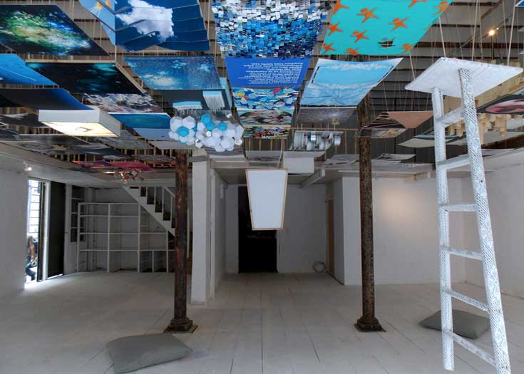 the Art Foundation [taf] - Thessaloniki - exhibition space - photo credits: Victor Malkievic