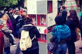 the mobile bookshelf - collaboration with Irini-Emilia Ioannidou